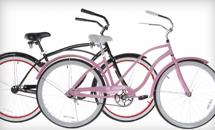 $149 for a Men's or Women's Beach Cruiser at Road Bike Outlet in St. Augustine ($299 Value). Six Colors Available.