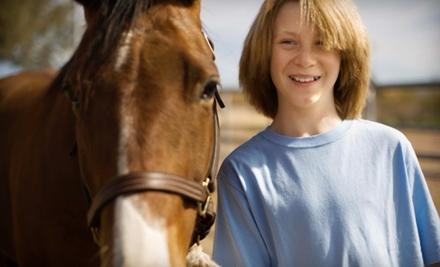 $25 for a Guided Horseback Tour Through Audubon Park at Cascade Stables ($40 Value)