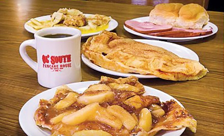 Pancakes and Southern Fare for Two or Four at Ol' South Pancake House (Up to 55% Off)