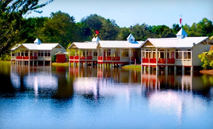 $179 for a Two-Night Getaway Package for Two at Flat Creek Lodge in Swainsboro
