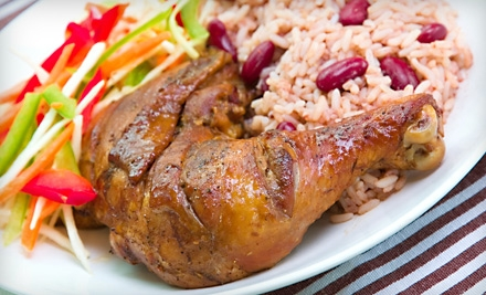 $12 for Authentic Jamaican Dishes for Two at Jamaican Dave's (Up to $24 Value)