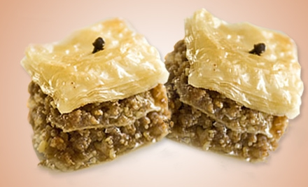 $10 for a 1 Lb. Box of Gourmet Baklava from Yiayia Maria's Kitchen ($20 Value)