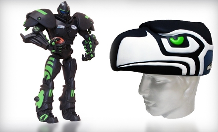 $19 for $40 Worth of Sports Accessories and Novelty Items from Foamheads.com