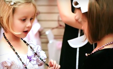 $12 For a Prince or Princess Dress-Up Teatime Package at Chelsea's Tea Room and Boutique in Arlington ($24.99 Value)
