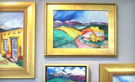 $40 for $100 Toward Custom Framing at High Desert Art & Frame