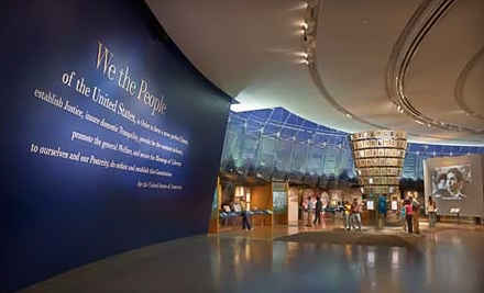 Museum Outing for Two Adults or Family of Four to National Constitution Center (Up to Half Off)