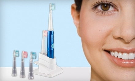 $59 for an Ultrasonic Toothbrush with Shipping Included from Elite Brights ($225 Value)