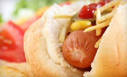 Lunch with Sandwiches and Soft Drinks for Two or Four at The Chilly Dog in Bethlehem (Up to 53% Off)