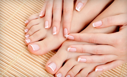 Signature Peppermint Facial, One Mani-Pedi, or Three Mani-Pedis at Studio 11 Salon and Day Spa (Up to 52% Off)