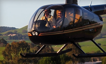 $229 for Helicopter Tour and Breakfast or Lunch for Two from Heloventure Helicopter in Petaluma ($460 Value)