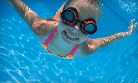 $49 for One Month of Children's Swimming Lessons at Aquatic Adventures (Up to $110 Value)