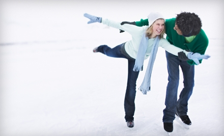 Ice-Skating Outing with Skate Rental for 2, 4, or 10 at Joel Coliseum Annex Ice Rink in Winston-Salem (Up to 58% Off)