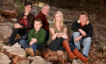 $99 for a Holiday Portrait Package with Greeting Cards, Prints, and CD with Image from CaraDee Photography ($490 Value)