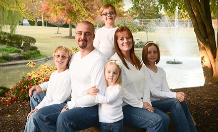 $29 for a One-Hour Photo Session with Prints and Photo DVD from Cherished Moments Photography (Up to $350 Value)