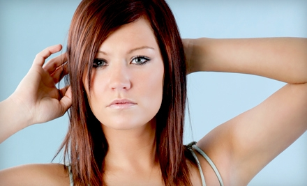 Haircut PackageHaircut-and-Highlights Package at Colors & Shapes in Dunnellon (Up to 58% Off)