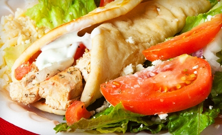 $8 for $16 Worth of Greek and Continental Fare at Greek House Cafe