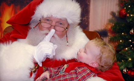11 for Photos with Santa Claus and a Dasher Print Package from Worldwide Photography ($22.99 Value)