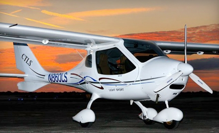 $70 for a 30-Minute Glenn Curtiss Discovery Flight from Mint Air (Up to $150 Value)