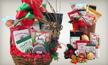 $15 for a Holiday or Traditional Taste of Virginia Gift Basket at Taylor Made for You ($30 Value)