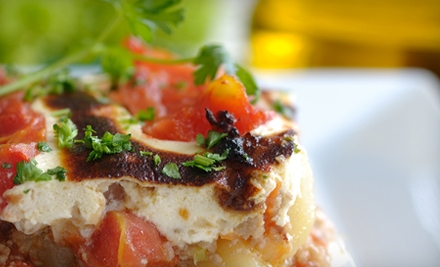 Mediterranean Cuisine for Lunch or Dinner for Two or Four at Vanilla Bean Bistro (Up to 59% Off)