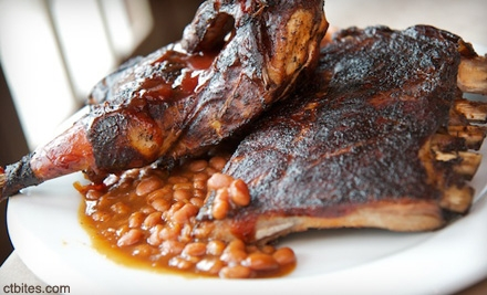 Barbecue and Seafood Fare on a Weekday or Weekend at BJ Ryan's BANC House (Up to Half Off)