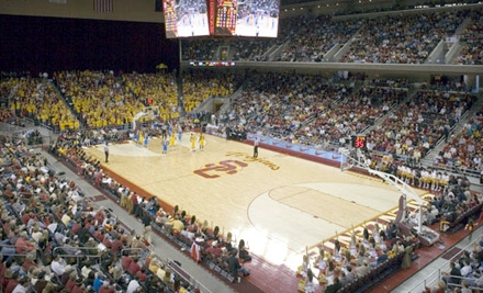 One or Four Tickets to USC Versus Nebraska Basketball at Galen Center on November 14 (Up to 52% Off). Four Options Available.