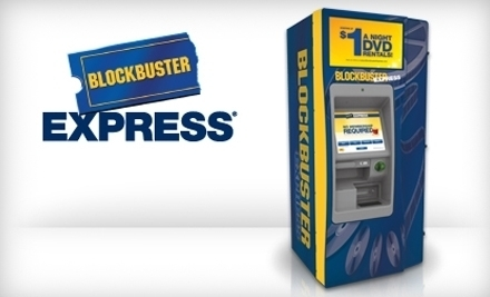 $2 for Five One-Night DVD Rentals from Any Blockbuster Express ($5 Value)