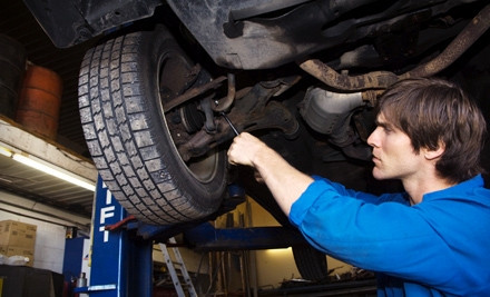 $40 for Two Complete Oil and Filter Services and One Peace of Mind Winter Readiness Inspection at Victory Auto Service & Glass ($80 Value). Four Locations Available.