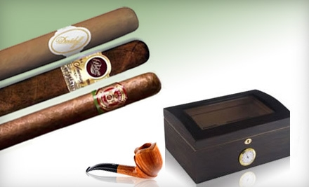 $15 for $30 Worth of Fine Cigars, Tobacco, Humidors, Lighters, and Accessories at The Tinder Box in Metairie