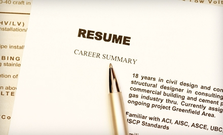 $85 for Professional Resumé-and-Cover-Letter Services from JMC Resumes, Ltd. ($215 Value)