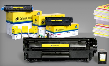 $25 for $50 Worth of Ink- and Toner-Cartridge Refills at Cartridge World in Pelham