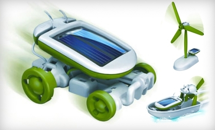$19 for a 6-In-1 Solar Educational Toy from Eco Educational Toys ($39 Value)