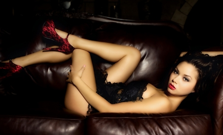 $99 for a 30-Minute Boudoir Photo-Shoot Package with Retouched Images at Classic Boudoir Photography ($350 Value)