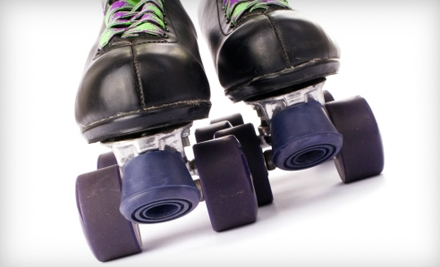 $20 for a Roller-Skating Outing for Five at Roller Dome Skate Centers (Up to $47.50 Value)