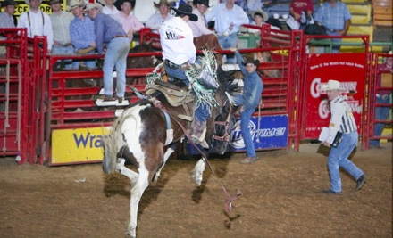 Rodeo Outing for Two or Four to Stockyards Championship Rodeo in Fort Worth (Up to Half Off). Four Options Available.