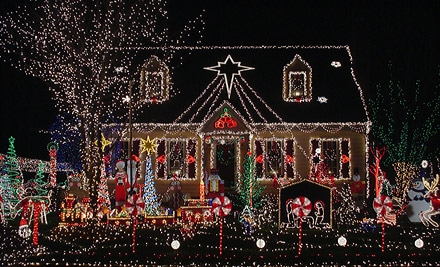 $25 for Two Hours of Christmas-Lights Installation or Snow Removal from Polar Express Handyman Division ($100 Value)