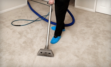 $49 for a Carpet-Cleaning Package with Teflon Protection from Evergreen Carpet Care (Up to $134.90 Value)