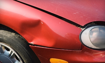 Paintless Dent Repair or Scuffed-Bumper Paint and Repair at Auto Renewal Services (Up to 58% Off)
