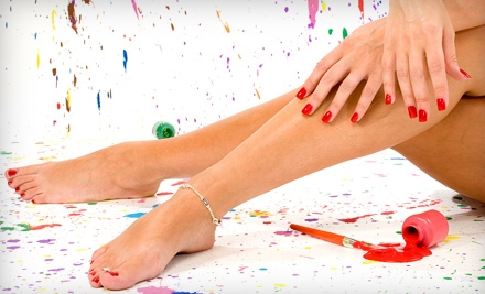 $30 for a Manicure and Pedicure from Nails by Lori at Renaissance Hair and Nail Design in Ventura ($60 Value)