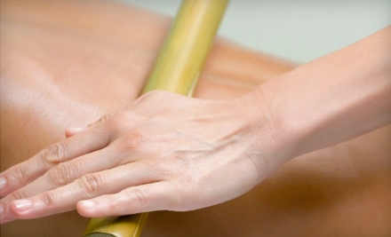 $49 for a One-Hour Bamboo Massage at Breathe Therapeutic Massage ($100 Value)