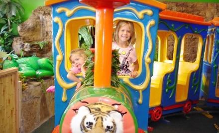 $5 for One Safari Play Pass at Indoor Safari Park ($10 Value)