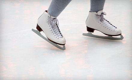 Ice-Skating Outing and Skate Rental for Two or Four People at Iceoplex in Simi Valley (Up to 56% Off)