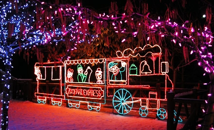 Holiday Zoo Visit for Two Adults or Two Children or Seniors to ZooLights! at Utah's Hogle Zoo (Half Off)