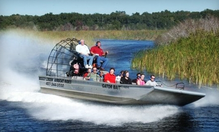 Boggy Creek Airboat Rides 2 grid 6 Orlandos Hot Extreme Daily Deals And 1 (One) Day Sales November 15, 2011
