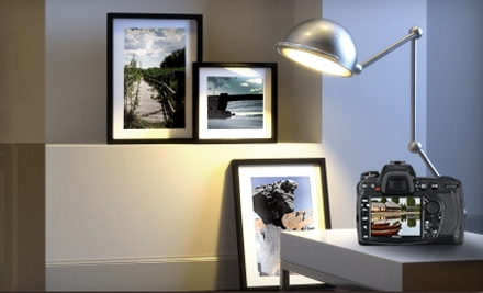 Custom Framing and Photo Services at Grapheteria (Up to 55% Off). Two Options Available.