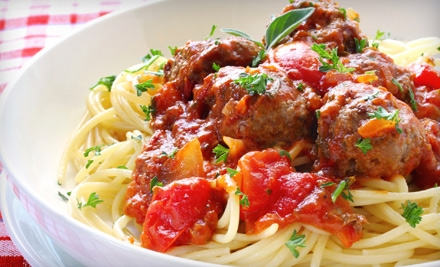 $16 for Spaghetti Dinner for Two at Doyle's Restaurant (Up to $32.80 Value)