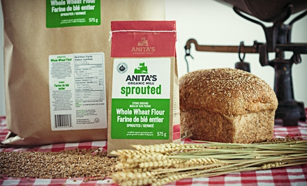 $10 for $20 Worth of Organic Grains, Cereals, and Flour at Anita's Organic Mill in Chilliwack