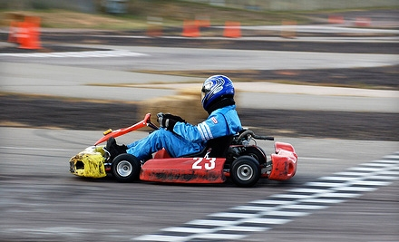 $60 for Three 10-Lap Go-Kart Sessions Including Equipment Rental and Time Sheet at Action Karting ($120 Value)