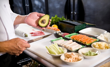 Two-Hour Sushi-Making Class for One, Two, or Four at I Am Chef Apple (Up To 63% Off)