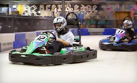 $44 for Four 16-Lap Go-Kart Races at Racer's Edge Indoor Karting in Burbank (Up to $92 Value)